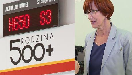 PUDELEK W SEJMIE Minister Rafalska o bonach 500 Może się tak zdarzyć że alkohol jest wyłączony z zakupów