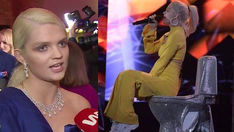 Margaret tłumaczy występ na sedesie W kamerze tego się dobrze nie ogląda