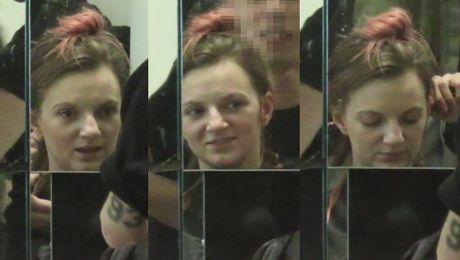 Sarsa bez makijażu u fryzjera… Poznajecie