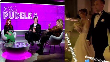 Sylwestrowy ślub Bohosiewicz Dobrze że chociaż raz wykorzystała media społecznościowe w dobry sposób KLIKA PUDELKA