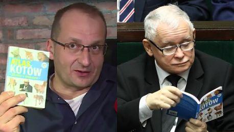 Kaczyński ogląda Ucho prezesa Górski Słyszałem że mu się podoba