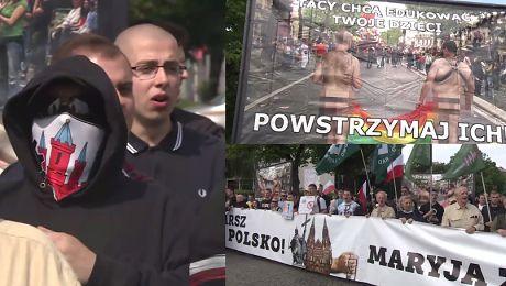 Narodowcy kontra Marsz Równości w Gdańsku