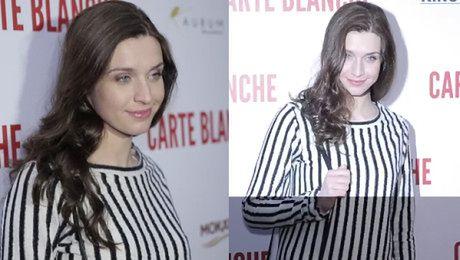 Zmęczona Kamińska na premierze Carte Blanche