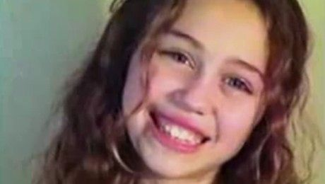 11 letnia Miley na castingu do Hannah Montana