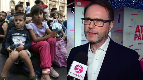 Żmijewski nie odpuszcza Trzeba pomagać uchodźcom To są MILIONY WYGNANYCH LUDZI uciekają przed śmiercią