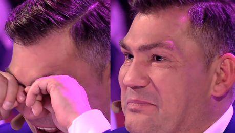 Dariusz Michalczewski płacze w programie Superdzieciak