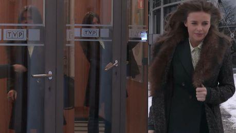 Herbuś uwięziona w budynku TVP Nie mogła otworzyć drzwi