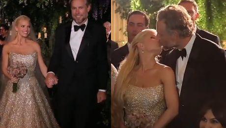Jest WIDEO ze ślubu Jessici Simpson