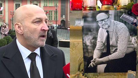 Marcinkiewicz wspomina Adamowicza Siał dobro