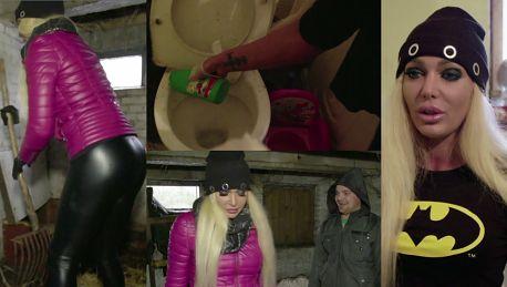 Orzechowska wzięła udział w Damach i wieśniaczkach Sprząta toaletę i czyści kurnik…
