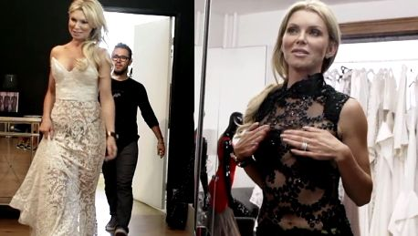 Żona Hollwood przymierza sukienkę Beyonce Nie podciągajmy wyżej Musi być widać pępek