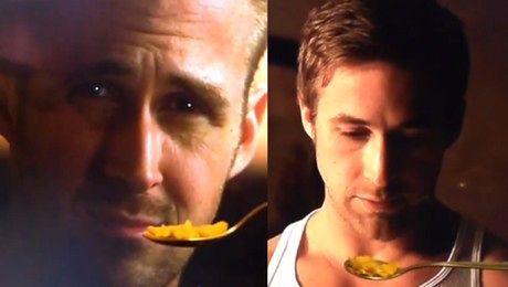 Ryan Gosling nie chce jeść płatków