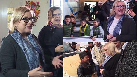 Kempa u uchodźców Niech członkowie Komisji Europejskiej częściej tu przyjeżdżają