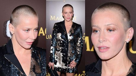 Nowa fryzura Warnke lub jej brak debiutuje na ściance Sexy