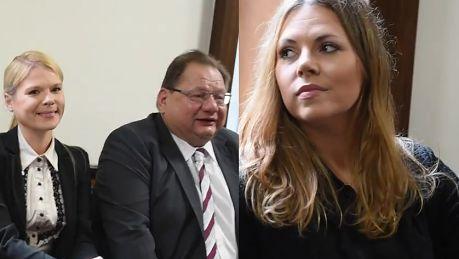 Kaliszowie i Ola Kwaśniewska w sądzie