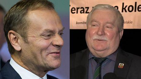 Wałęsa gratuluje Tuskowi Doceniliśmy człowieka który dobrze się spisuje Nie zasłużył by go inaczej potraktowano
