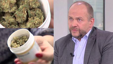 Lekarz zwolniony za leczenie marihuaną Była akceptacja ministerstwa To obowiązek każdego lekarza leczyć