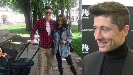 Lewandowski o byciu twarzą smartfonów Używam ich do robienia zdjęć Często z Anią robimy selfie na spacerze