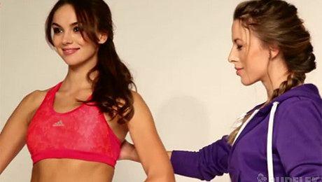 Miss Polonia pozuje z Ewą Chodakowską