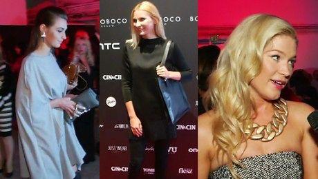 Gwiazdy i celebrytki na pokazie Bohobocco Kamińska Moro Ślotała