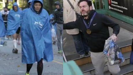 Tak wyglądali biegacze TUŻ PO MARATONIE w Nowym Jorku