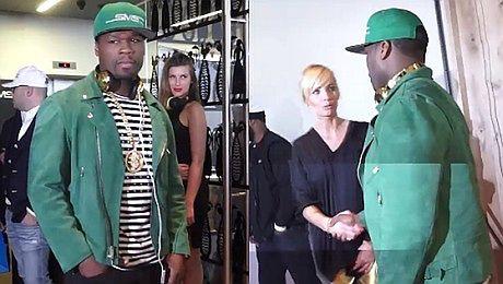Szulim rozmawia z 50 Centem
