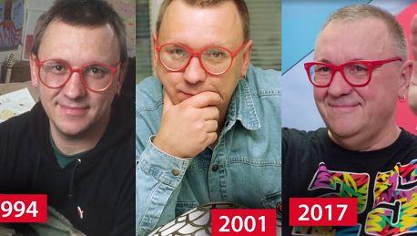 Tak przez 27 lat WOŚP zmieniał się Jurek Owsiak