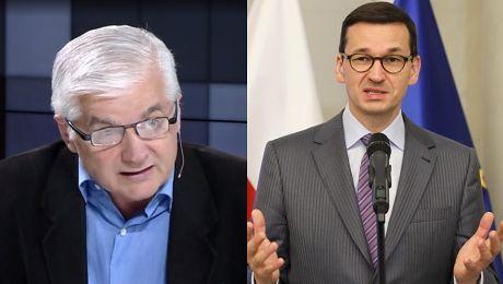 Cimoszewicz atakuje Morawieckiego Szef rządu powinien być szefem rządu a nie POPYCHADŁEM
