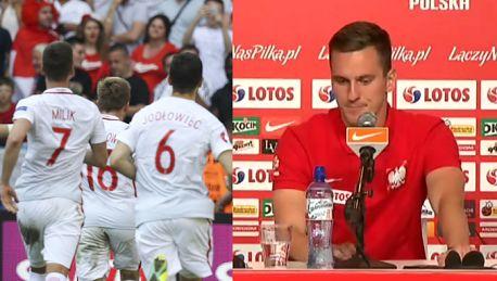 Milik Mam nadzieję że trafię do siatki w meczu z Portugalią