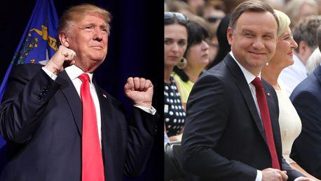 Kancelaria prezydenta Do spotkania Dudy z Trumpem może dojść wiosną podczas szczytu NATO