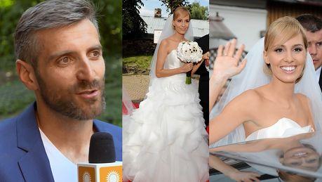 Dowbor nabija się z pierwszego wesela Popielewicz Nawet mydełka były podpisane imionami nowożeńców