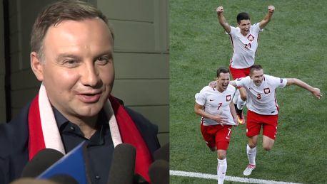 Duda o meczu Polska Niemcy Chłopaki dali z siebie wszystko Zadanie zostało wykonane
