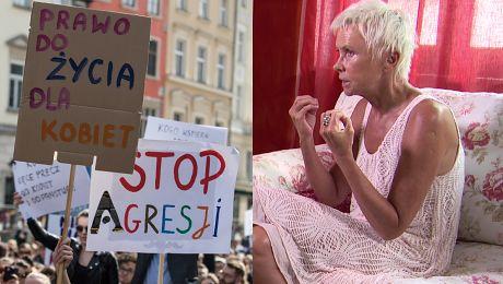 Ewa Błaszczyk o ustawie antyaborcyjnej To psychiczne maltretowanie