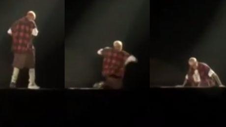 Justin Bieber SPADŁ ZE SCENY WIDEO