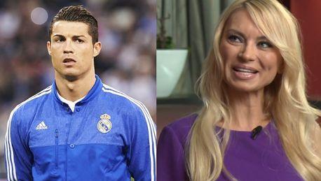 Żona Hollywood chwali się MIAŁAM ROMANS z Cristiano Ronaldo Może mu przypominałam Irinę