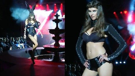 Seksowny pokaz na imprezie Playboya