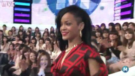 Rihanna w dziwnym japońskim programie