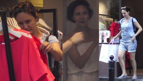 Gwiazda Rancza na zakupach w luksusowym butiku WIDEO