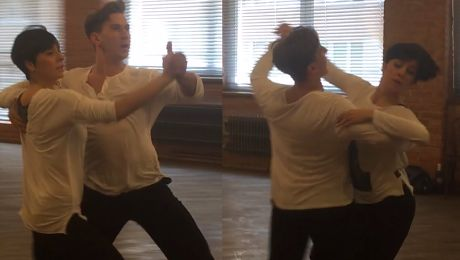 Skupiona Okupnik trenuje do Tańca z gwiazdami