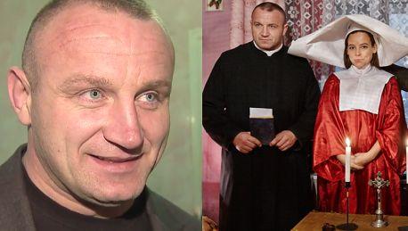 Pudzianowski Nie było próby całowania z Muchą Biorę z marszu