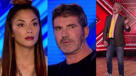Pan Zbyszek śpiewa przebój Queen w brytyjskim X Factor