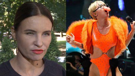 Miley Cyrus to ikona mody Polacy nie potrafią docenić nagości