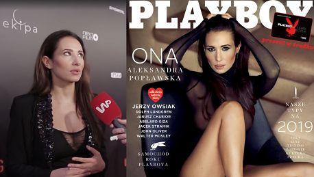 Popławska komentuje sesję w Playboyu Pokazałam tyle ile chciałam pokazać