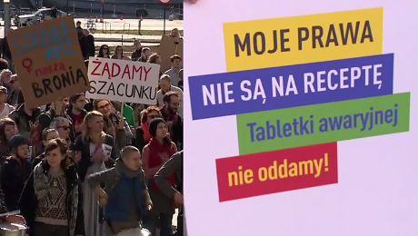 Protesty kobiet przeciwko przemocy władzy w całej Polsce
