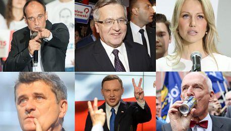 Najlepsze momenty kampanii wyborczej SUFLERKA Komorowskiego czy Duda to MATRIOSZKA w apelu Michalczewskiego