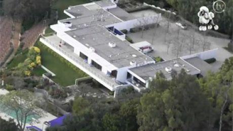 Dom Jennifer Aniston za 21 MILIONÓW Wideo z lotu ptaka