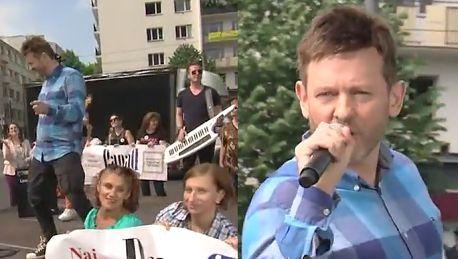 Paweł Stasiak śpiewa w Dzień Dobry TVN