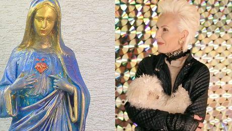 Kora Maluję Madonny Jedną przekazałam na WOŚP