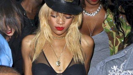 Rihanna Brown i Drake na jednej imprezie