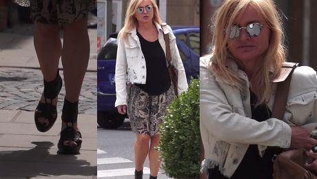 Monika Olejnik w za małych butach